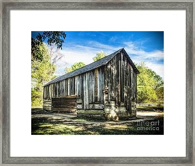 Cable Mill  Cantilever Barn Framed Print