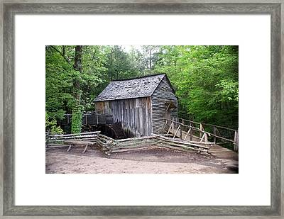 Cable Mill Framed Print by Marty Koch