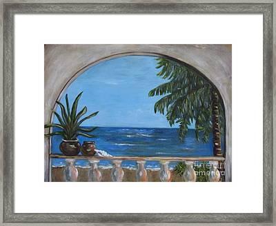 Cabo Arch #2 Framed Print