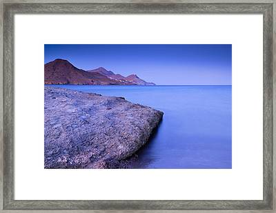 Cabo De Gata Natural Park Framed Print by Guido Montanes Castillo
