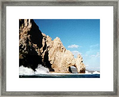 Cabo San Lucas Arch Framed Print by Will Borden