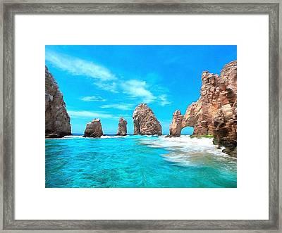 Cabo San Lucas Mexico Framed Print