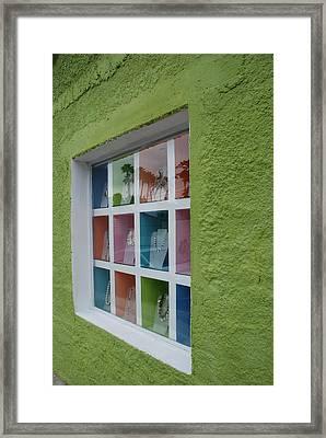 Cabo Window Framed Print by Dallas Hyatt