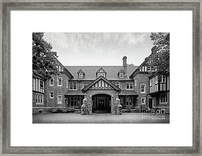 Cabrini College The Mansion Framed Print by University Icons