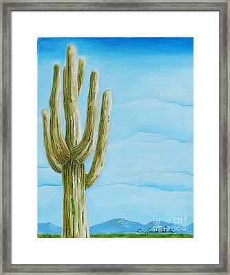 Cactus Jack Framed Print