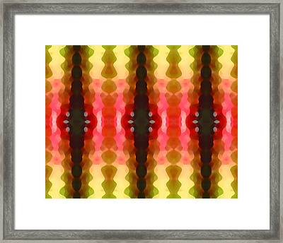 Cactus Vibrations 2 Framed Print by Amy Vangsgard