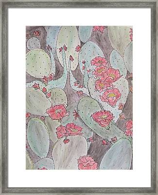 Cactus Voices #2 Framed Print
