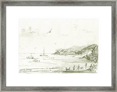 Cadaques Framed Print by Juan Bosco