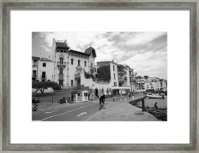 Cadaques2 Framed Print by Anna Belingheri