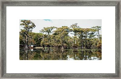 Caddo Bayou Framed Print