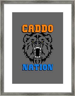 Caddo Nation Framed Print by Otis Porritt
