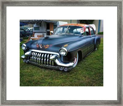 Caddy Custom Framed Print