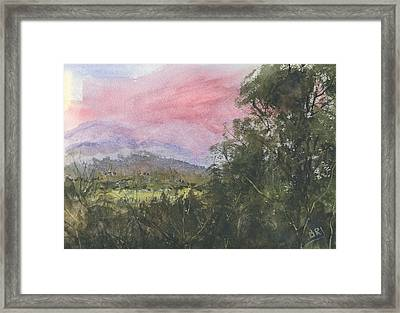 Cade's Cove 1 Framed Print by Barry Jones