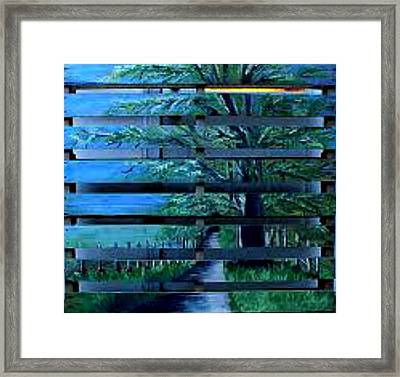 Cades Cove Framed Print by Ashley Galloway