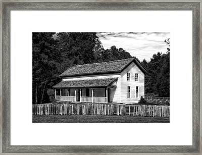 Cades Cove Gregg-cable House - 2 Framed Print by Frank J Benz