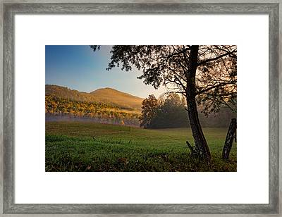 Cades Cove Framed Print by Rick Berk