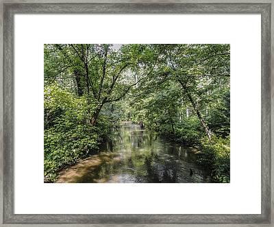 Cades Creek Framed Print