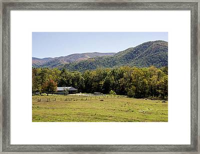 Cades Place Framed Print by Ricky Dean