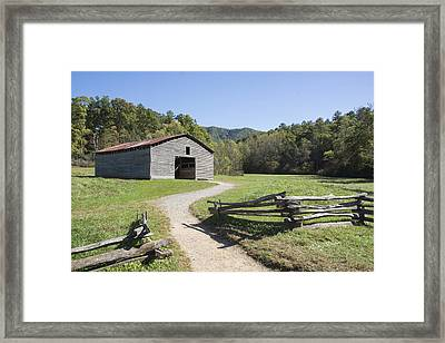 Cades Stables Framed Print by Ricky Dean