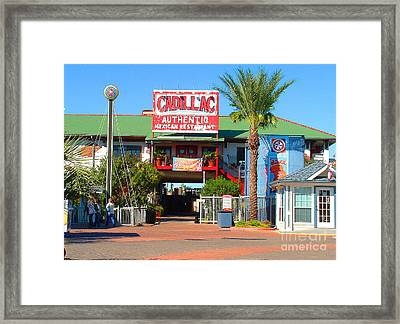 Cadillac Bar Framed Print
