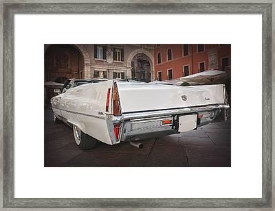 Cadillac Coupe De Ville Framed Print by Carol Japp
