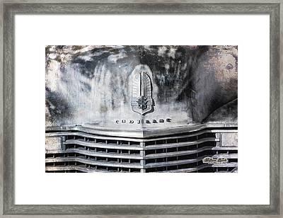 Cadillac Grill Shot Framed Print