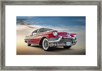 Framed Print featuring the digital art Cadillac Jack by Douglas Pittman