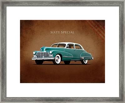 Cadillac Sixty Special 1949 Framed Print by Mark Rogan