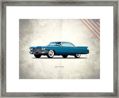 Cadillac Sixty Two Framed Print by Mark Rogan
