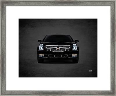 Cadillac Sls Framed Print by Mark Rogan