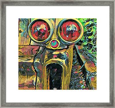 Cadillacasauraus Framed Print