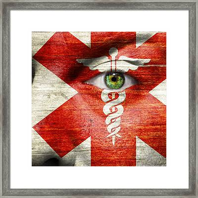 Caduceus  Framed Print