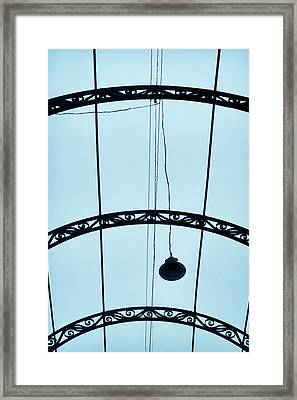 Caerulean Framed Print by Skip Hunt