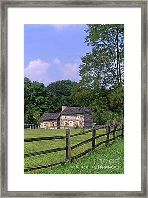 1e140 Caesar Creek Pioneer Village Photo Framed Print