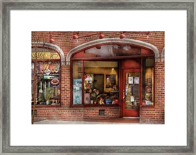 Cafe - Westfield Nj - Tutti Baci Cafe Framed Print