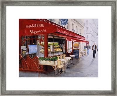 Cafe 4 Framed Print by Jay Johnson