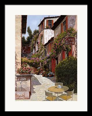 Outside Paintings Framed Prints