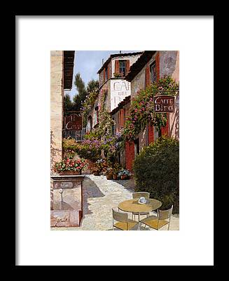 Brasserie Framed Prints