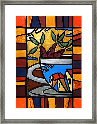 Cafe Caribe  Framed Print