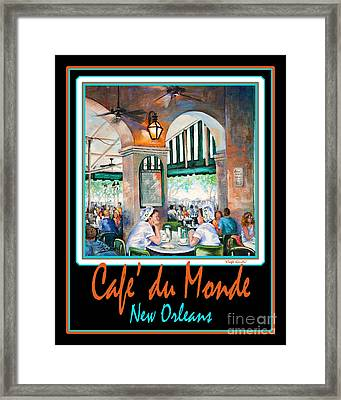 Cafe Du Monde Framed Print by Dianne Parks