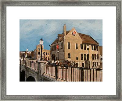 Cafe Hollander 2 Framed Print