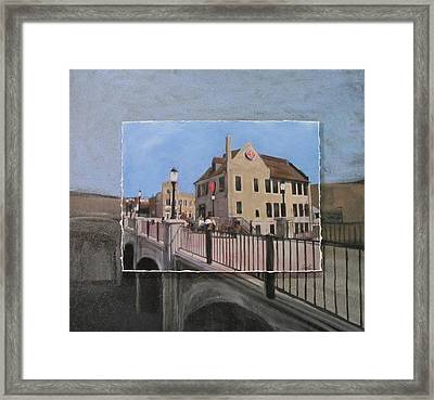 Cafe Hollander 2 Layered Framed Print