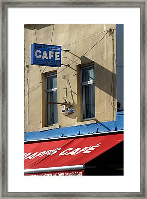 Cafe Old Ford Framed Print by Jez C Self