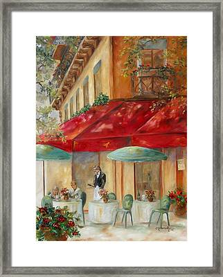 Cafe' Paris Framed Print