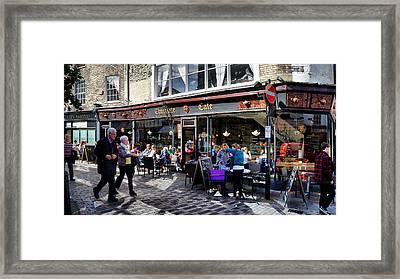 Cafe Framed Print