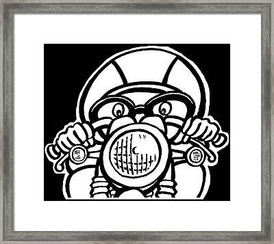 Cafe Racer 1 Framed Print by Scott Nelson