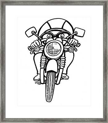 Cafe Racer 2 Framed Print