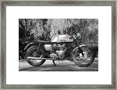 Cafe Racer Framed Print by Mark Rogan