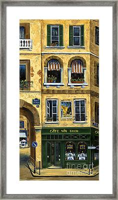 Cafe Van Gogh Paris Framed Print
