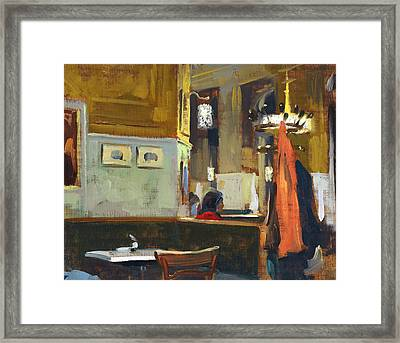 Cafe Westend Framed Print